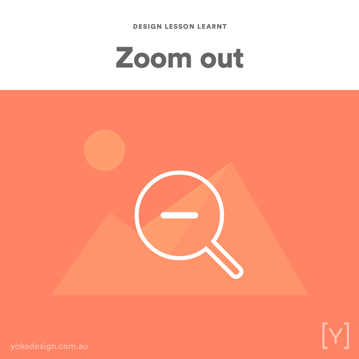 3. Lesson Learnt - Zoom Out