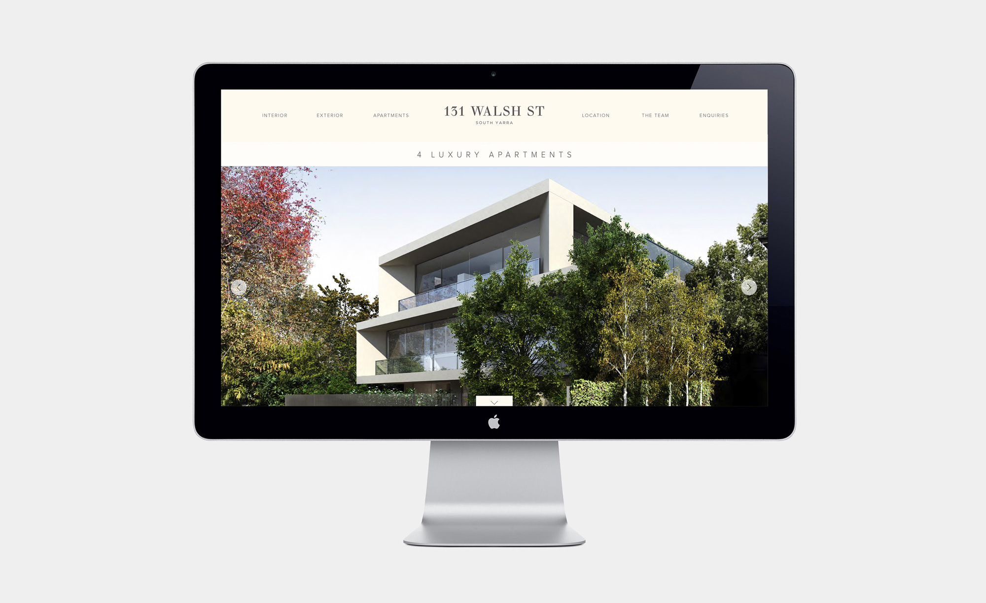 Website for 131 Walsh Street property