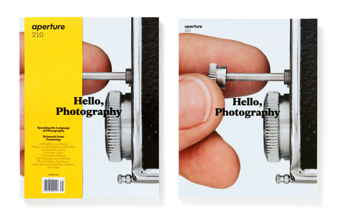 Aperture Magazine type by Henrik Kubel