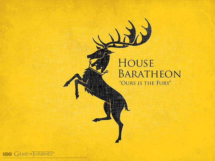 House Baratheon sigil Game of Thrones