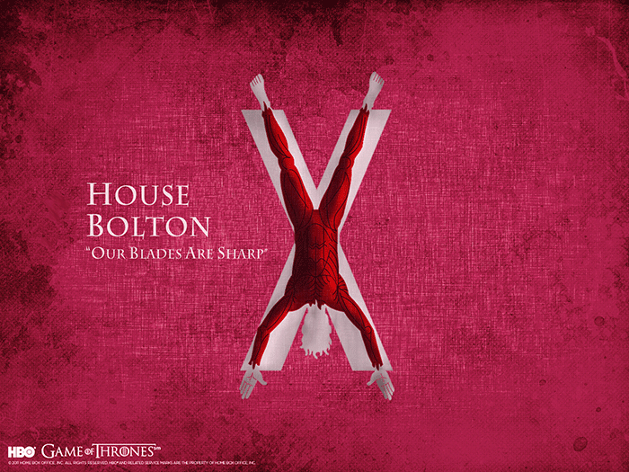 House Bolton sigil Game of Thrones