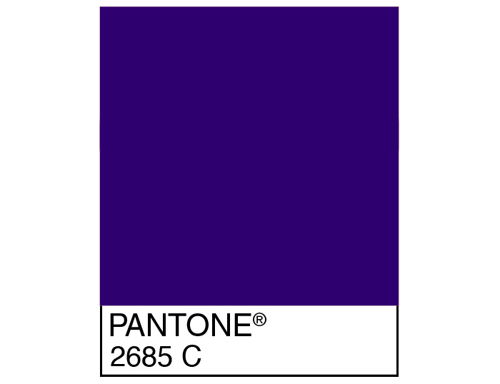 Cadbury Purple Pantone 2685 C