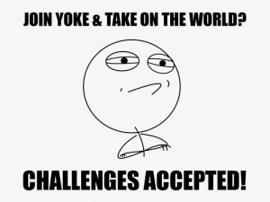Melbourne creative studio Yoke and Challenges Accepted merger meme