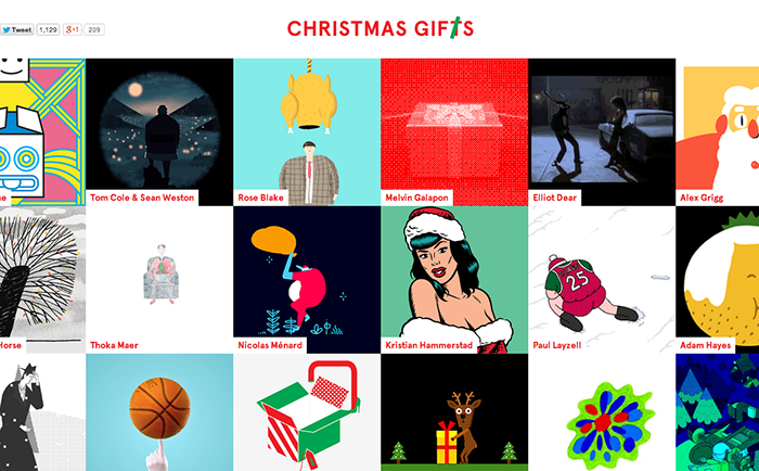 Christmas Advent calendar - Christmas GIFs