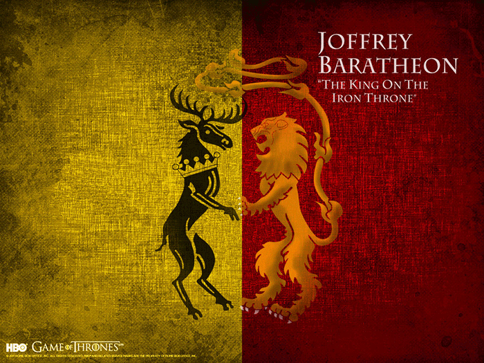 Joffrey Baratheon sigil Game of Thrones