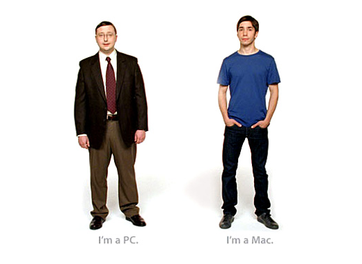 Mac vs. PC advertisement from the 'Get a Mac' campaign