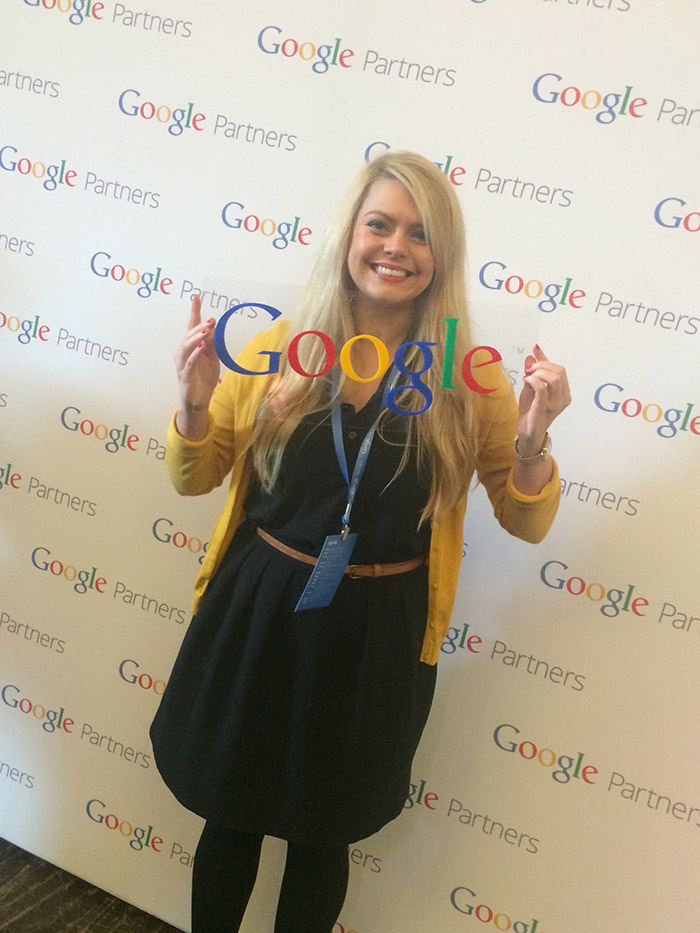 Yoke's Sina Kresse at Google Partners Masterclass Melbourne