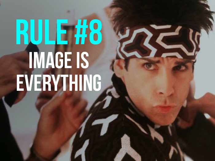 Rule 8 - Image Is Everything - Social Media Rules by Yoke Melbourne