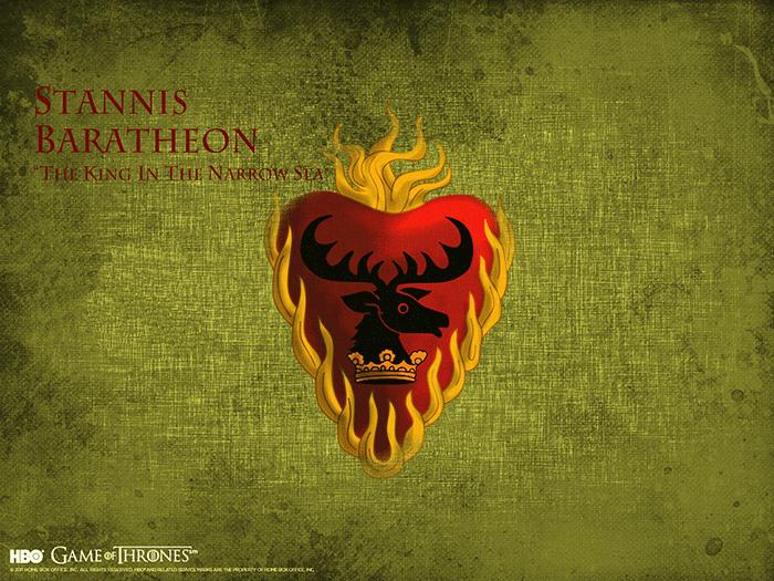 Stannis Baratheon sigil Game of Thrones