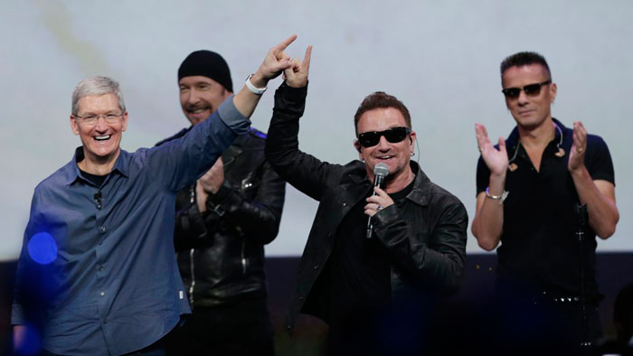 Apple and U2 iTunes campaign