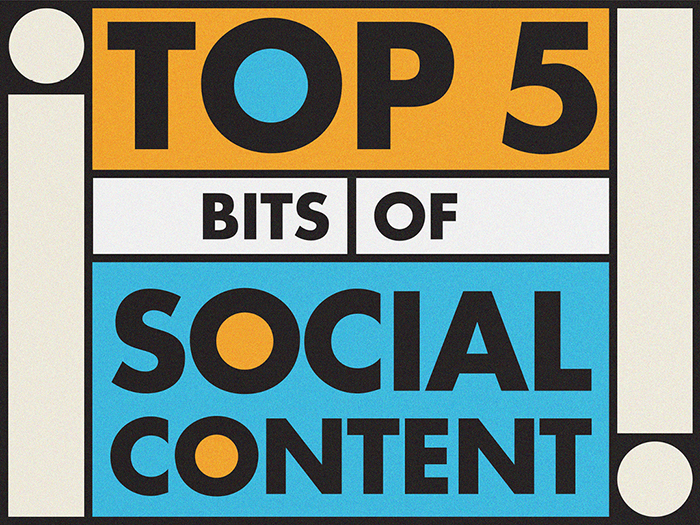 TOP 5 bits of social content - Social Media Rules by Yoke Melbourne
