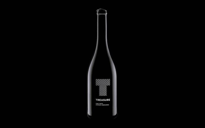 Treasure Wine packaging