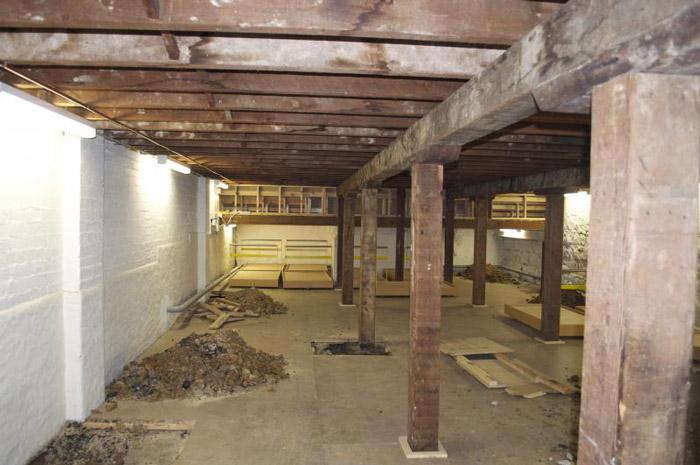 Yoke studio basement