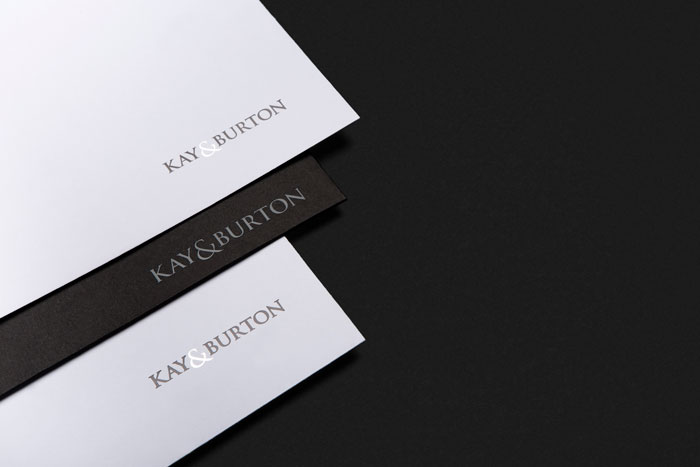 Kay & Burton brand collateral by Yoke