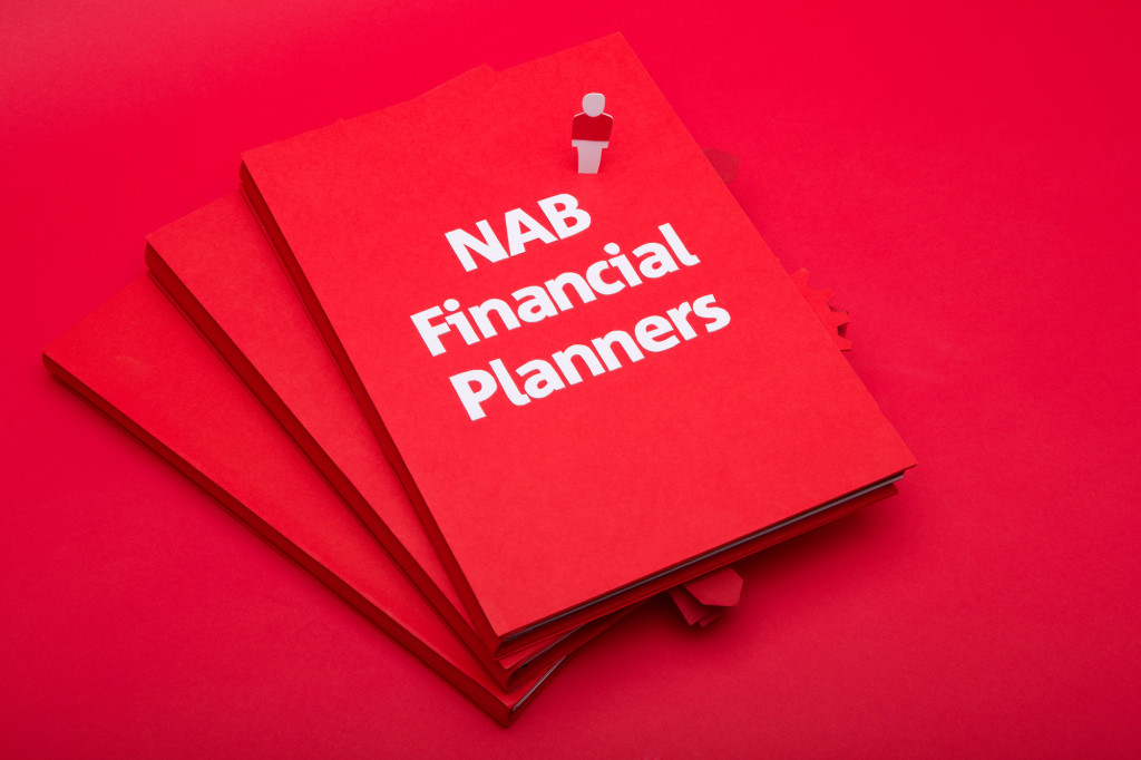 NAB Financial Planners promotional video booklet