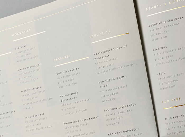 30 Park Place brochure by Mother Design