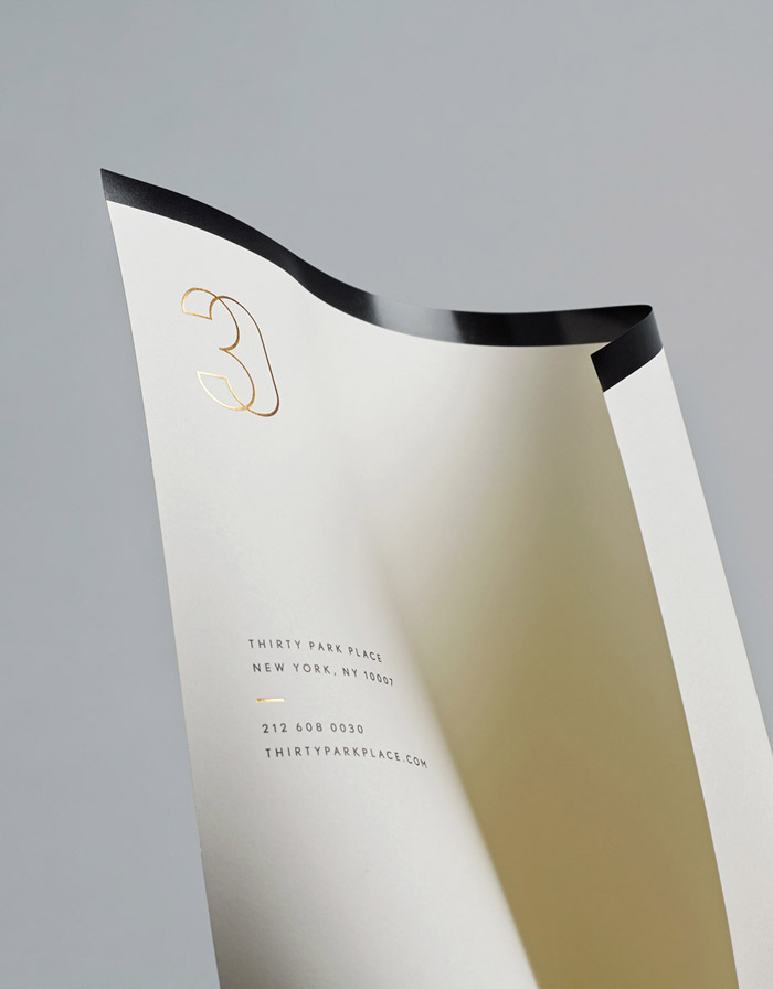 30 Park Place letterhead by Mother Design