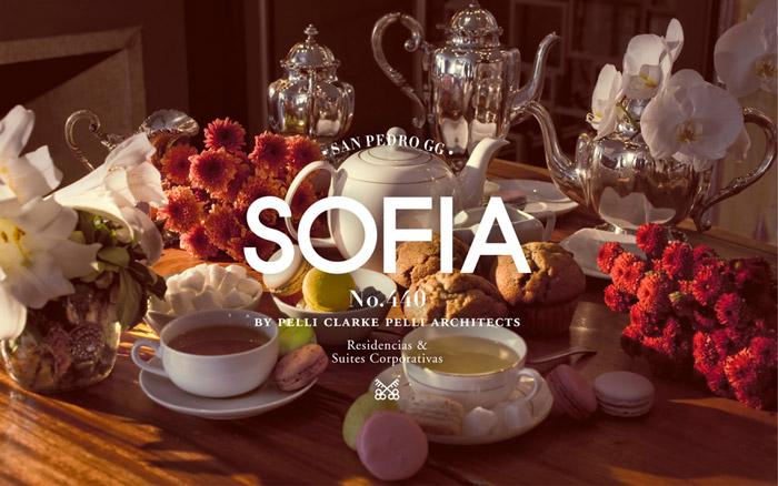 Sofia brand by Anagrama