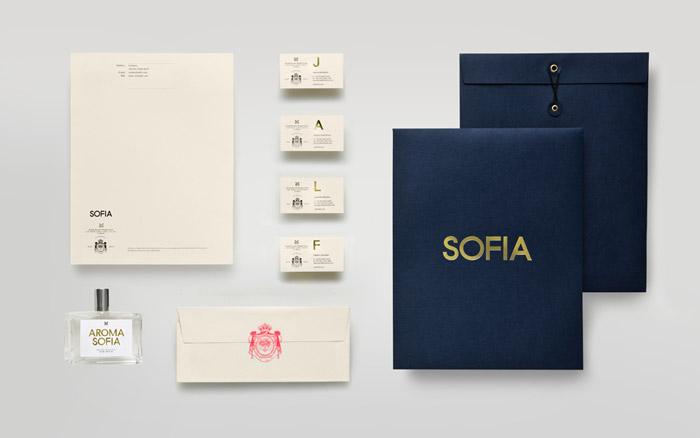 Sofia brand identity by Anagrama