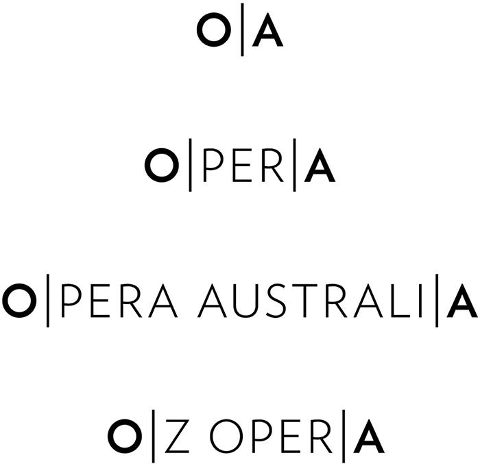 Opera Australia brand by Interbrand