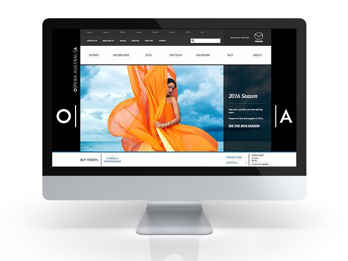 Opera Australia website