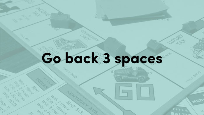 Pause Fest - Digital Business Transformations - Go Back Three Spaces