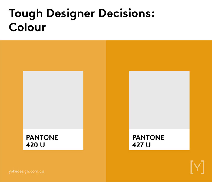 9 Tough Decisions Designers Face Every Day - Colour