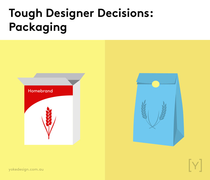 9 Tough Decisions Designers Face Every Day - Packaging