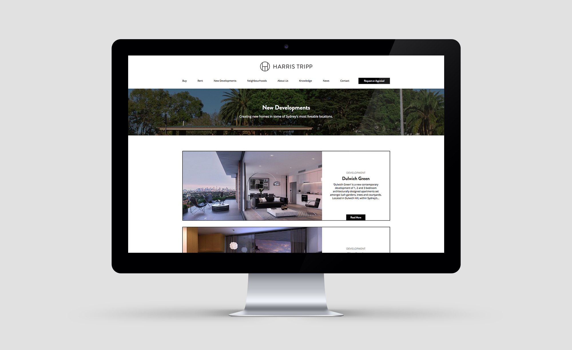 Yoke - One of the best real estate website design companies