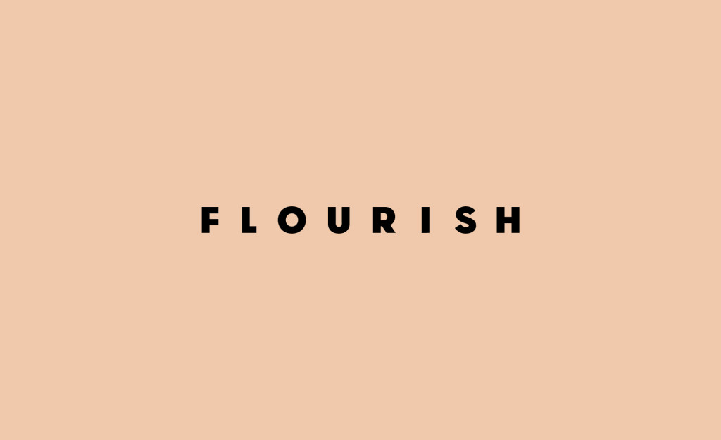 Brand design and brand strategy for Flourish by Yoke creative agency.