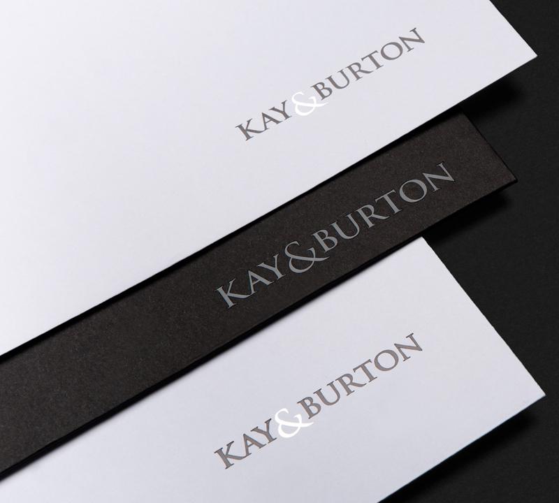 Kay & Burton - Rebrand