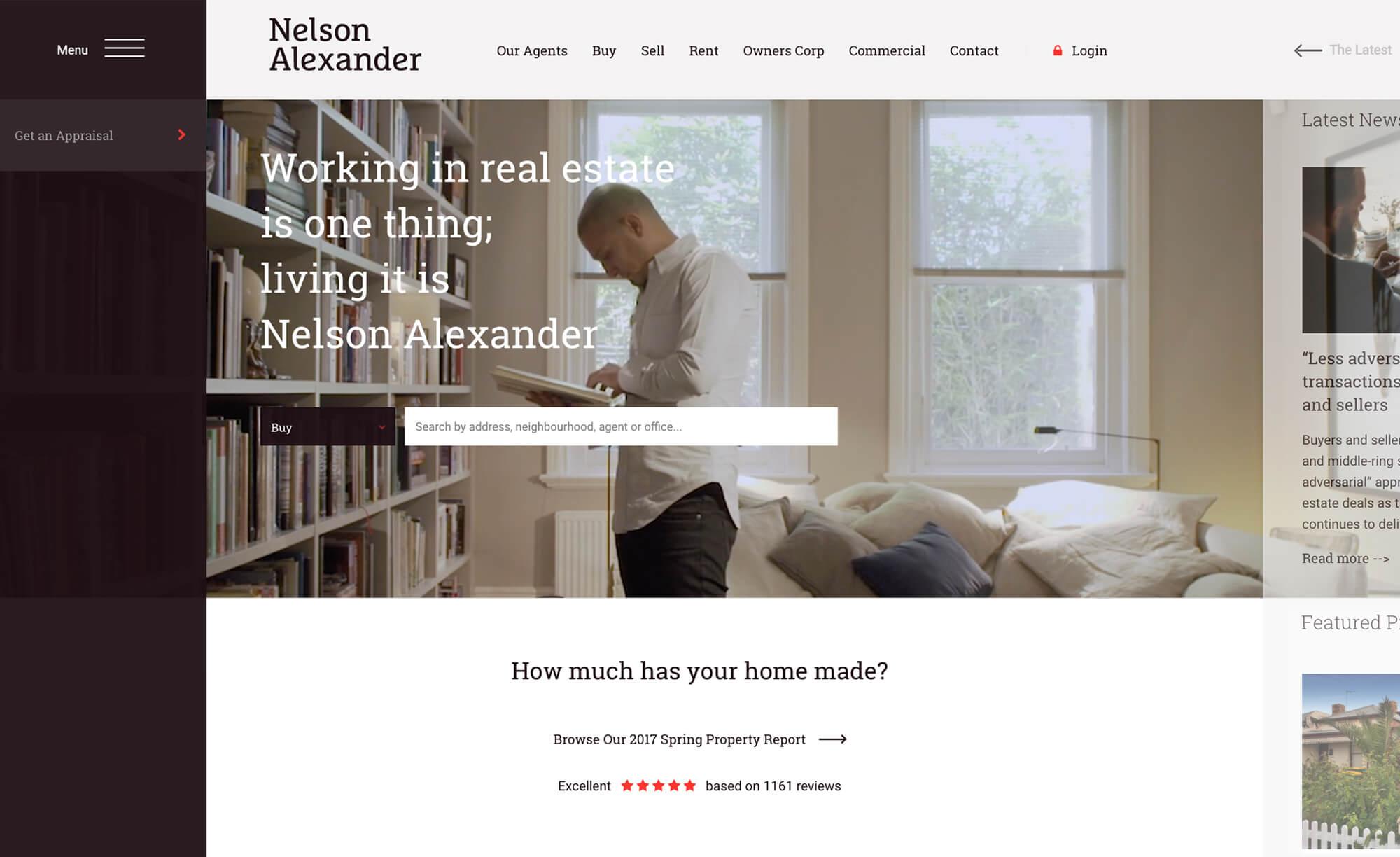 Nelson Alexander - Website