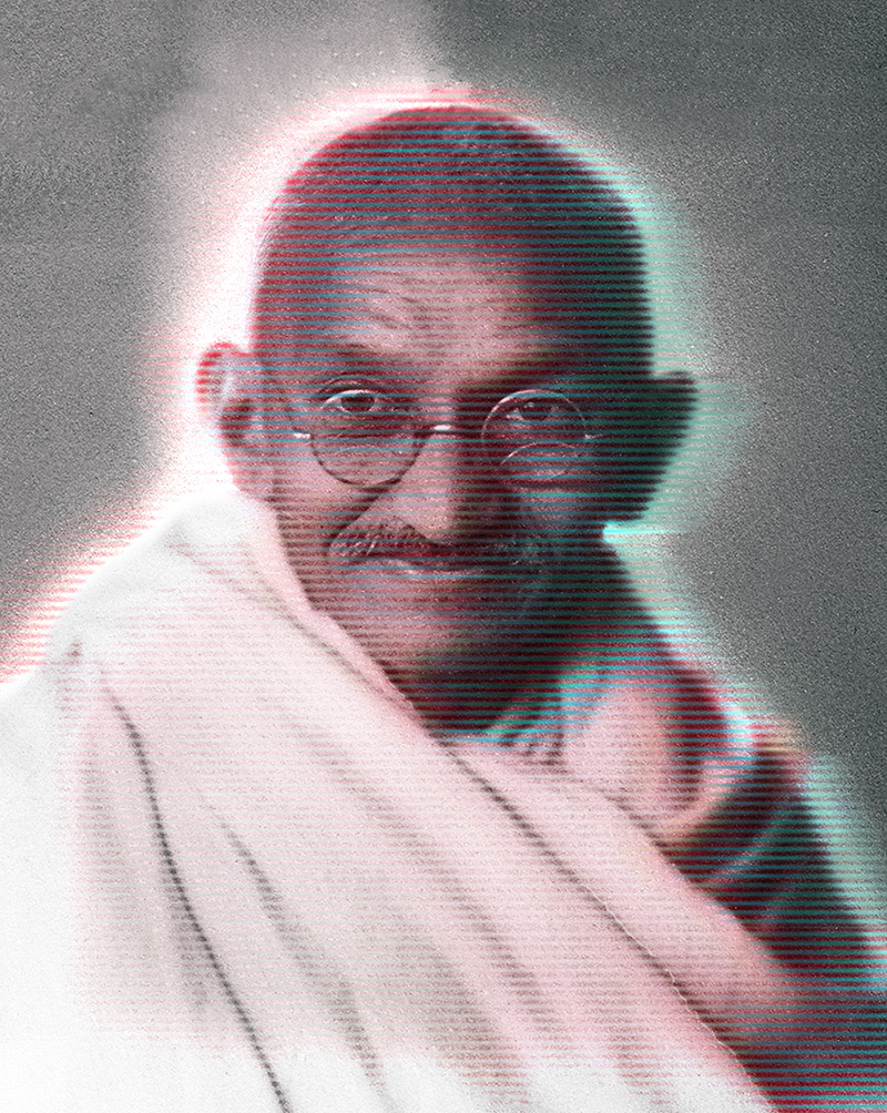 Museums Victoria - 'Gandhi, An Immigrant'
